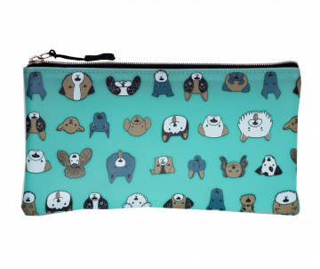 Pencil case CATS AND DOGS flat ZB 703204