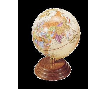 """Глобус на дерев'яній підставці """"горіх"""""""