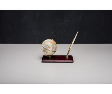 Глобус на дерев'яній підставці 0910WDM