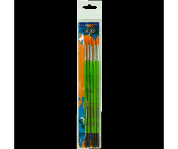 Set of 5 brushes, synthetics ZB-6966SR-2