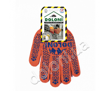 Knitted gloves working HANDS, 526