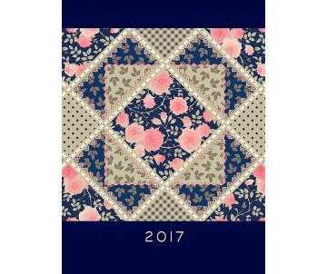 Diary A5 blue PROVENCE 2017 BM2161-02