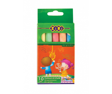 Chalk color 10pcs cardboard box