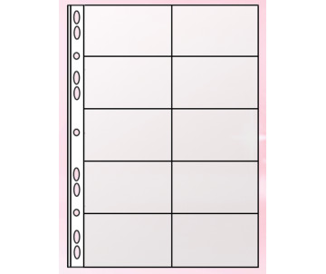 File A4 20 cards (PVC)