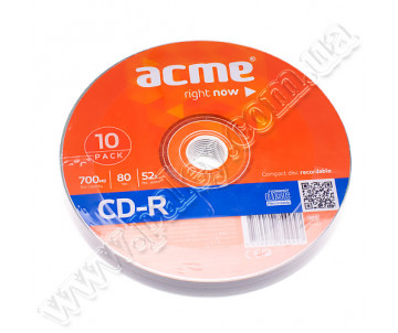CD-R 10pcs Cake Acme.