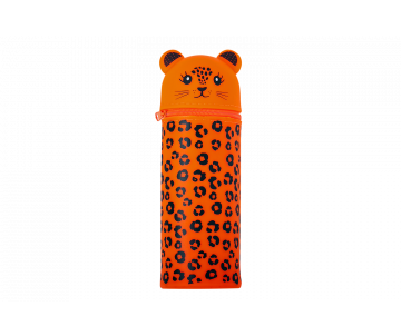 LEOPARDEN pencil case orange ZB 704218