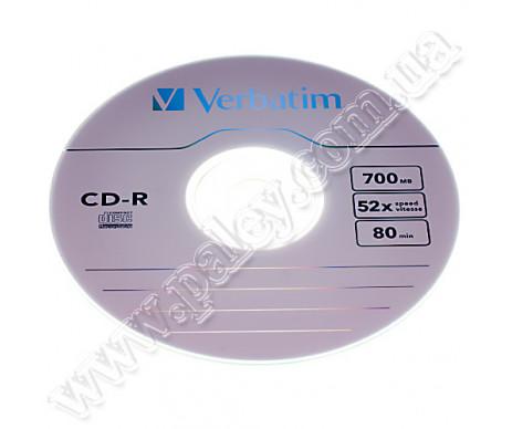 Диск CD-R  Verbatim 10шт.