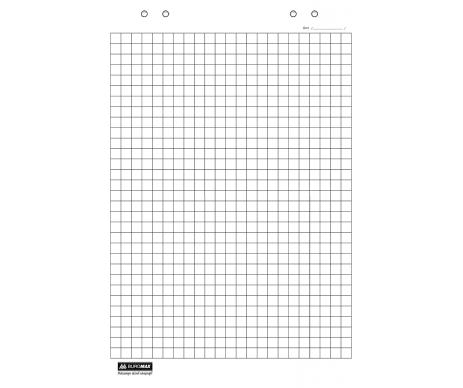 Блок для фліпчарту 30арк 64х90 BM-2299