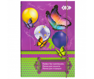 Folder for notebooks BUTTERFLY B5 ZB17-14963