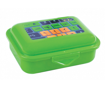 Container for food 138*104*54mm green
