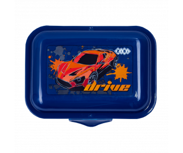 Container for food, 138*104*54mm, blue
