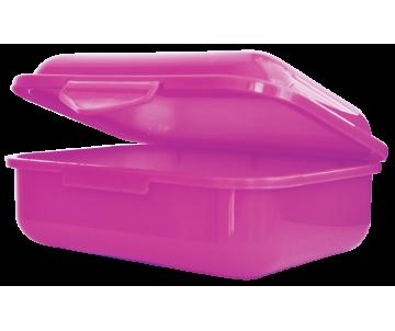 Контейнер для еды 138*104*54мм фиолетовый