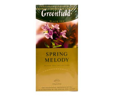 Greenfield tea 25 x 1.5 g spring melody