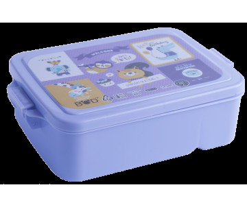 Container for food purple, ZB-3055-07