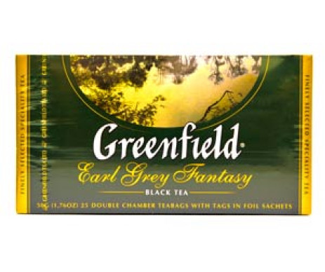 Greenfield tea 25x2g Earl grey Fantasy