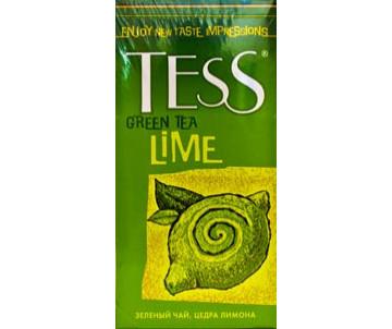 Чай Tess 25*1.5 пакет зеленый  LIME