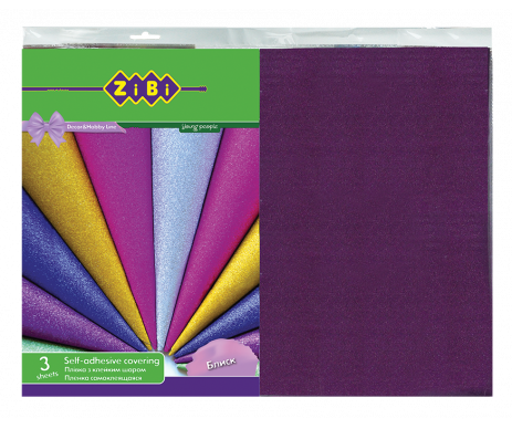 The adhesive film 3 of the arc.