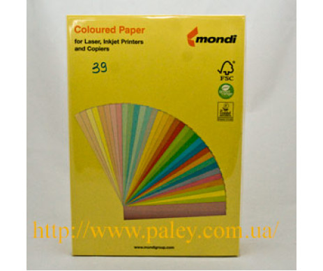 Paper A4 80g intensive yellow 500 sheets