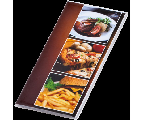 Folder for the account of the CAFE waiter, PVC transparent