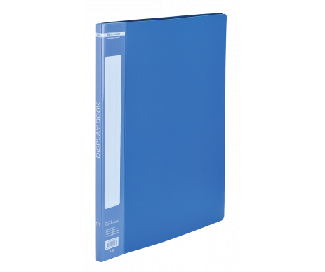 Folder with 10 files A4 blue