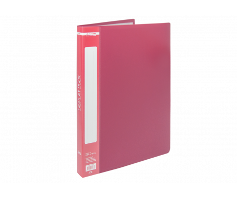 Folder with 20 files A4 red Buromax