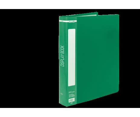 Папка з 60 файлами А4, зелений Buromax