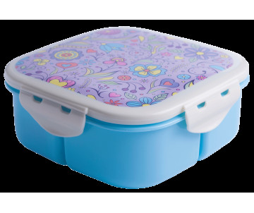 Container for food, blue ZB-3054-14