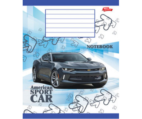 Notebook 12 sheets line ТА5-1221-2130л
