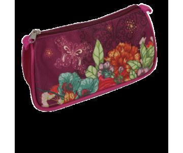 Flowers soft pencil case