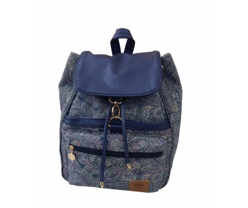 Backpack Baggy BLUE PAISLEY