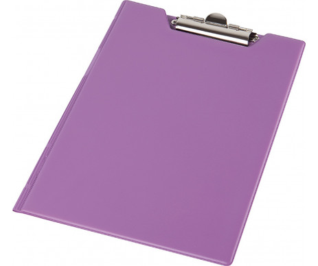 Clipboard folder A4 PVC purple