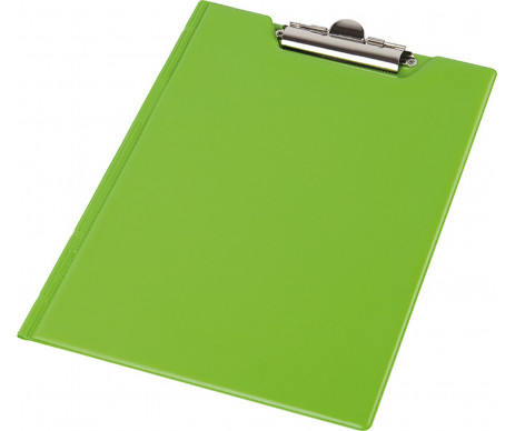 Clipboard folder A5 PVC green