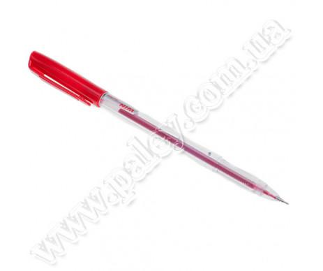 Ручка гель червона Flower WIN