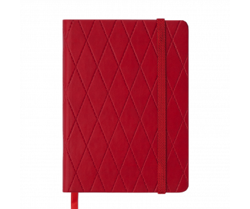Diary undated A6 CASTELLO 288 pages red