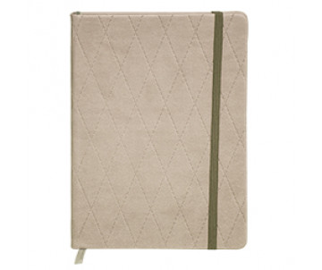 Diary undated A6 CASTELLO 288 pages beige