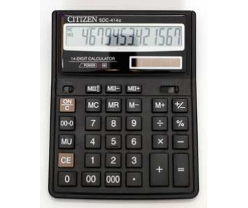 Calculator Citizen SDC 414