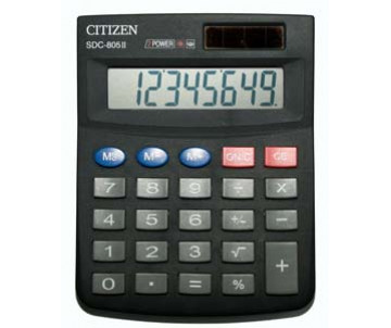 Calculator Citizen SDC-805