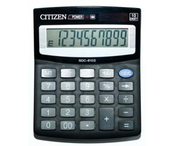 Calculator Citizen SDC 810