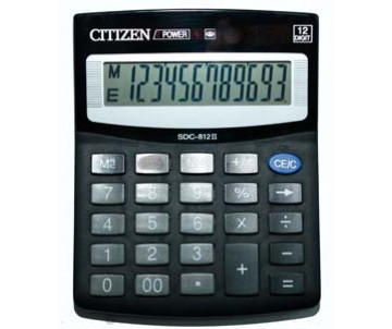 Calculator Citizen SDC 812