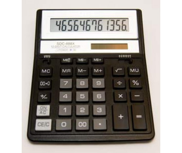Calculator Citizen SDC-888