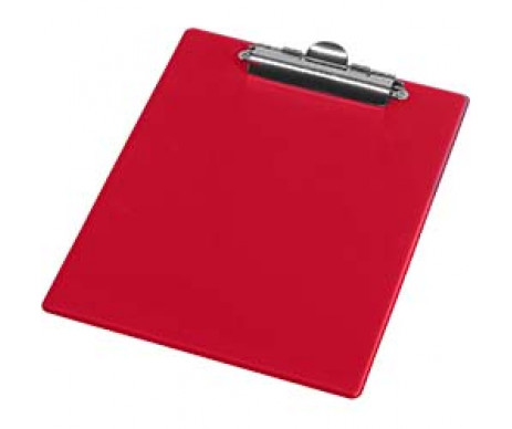 Clipboard A5 PVC red