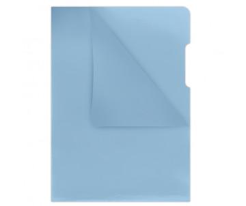 Папка-уголок А4 180 мкм синий