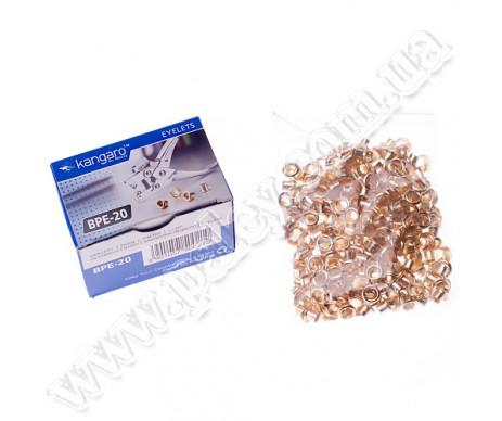 Заклепки металеві канцелярські сріб 36002