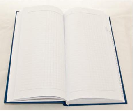 Alphabetical book A5 135*285 176 sheets