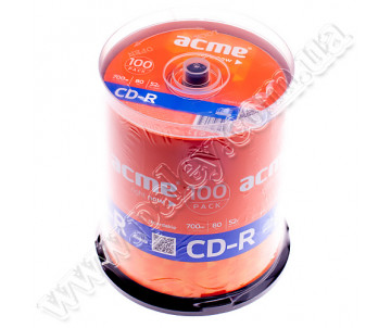 CD-R 100pcs Acme.