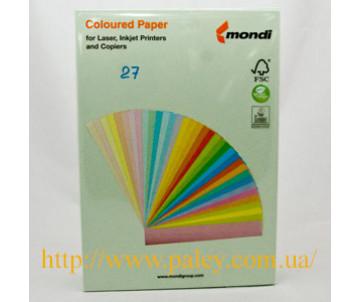 Бумага А4 пастель зеленая 80 гр 500 л