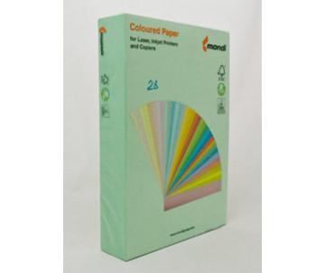 Бумага цветная А4 зеленый 500л 45020