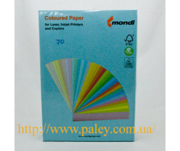 Colored paper A4 light blue 45025