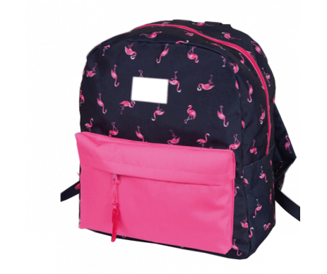 Backpack Simple FLAMINGO