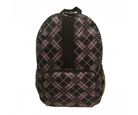 Backpack Simple BLACK ABSTRACT